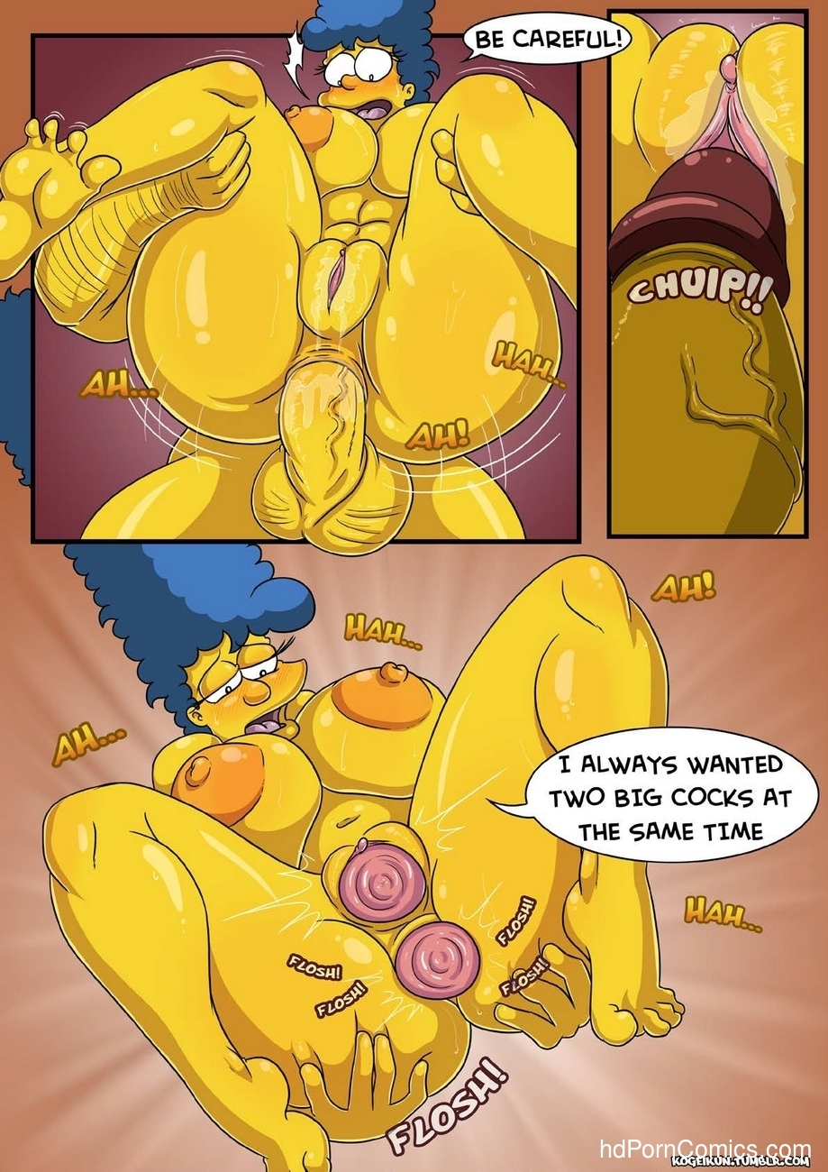 Marge's Erotic Fantasies 15 free sex comic
