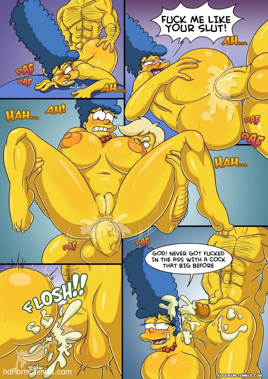 Marge's Erotic Fantasies 5 free sex comic