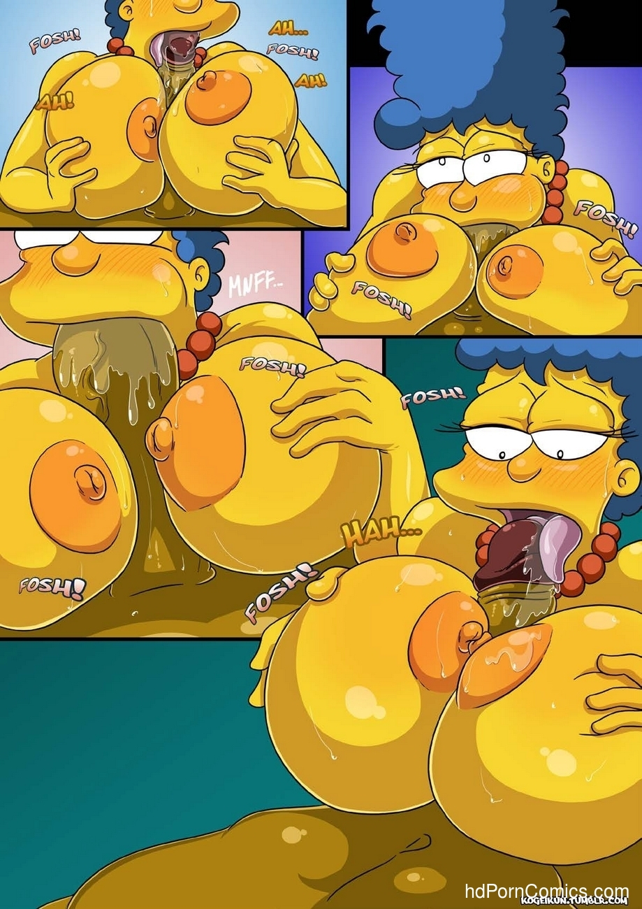 Marge's Erotic Fantasies 8 free sex comic
