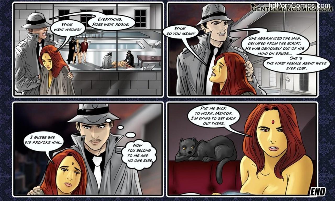 Maya 5 – Birth Of An Agent Sex Comic