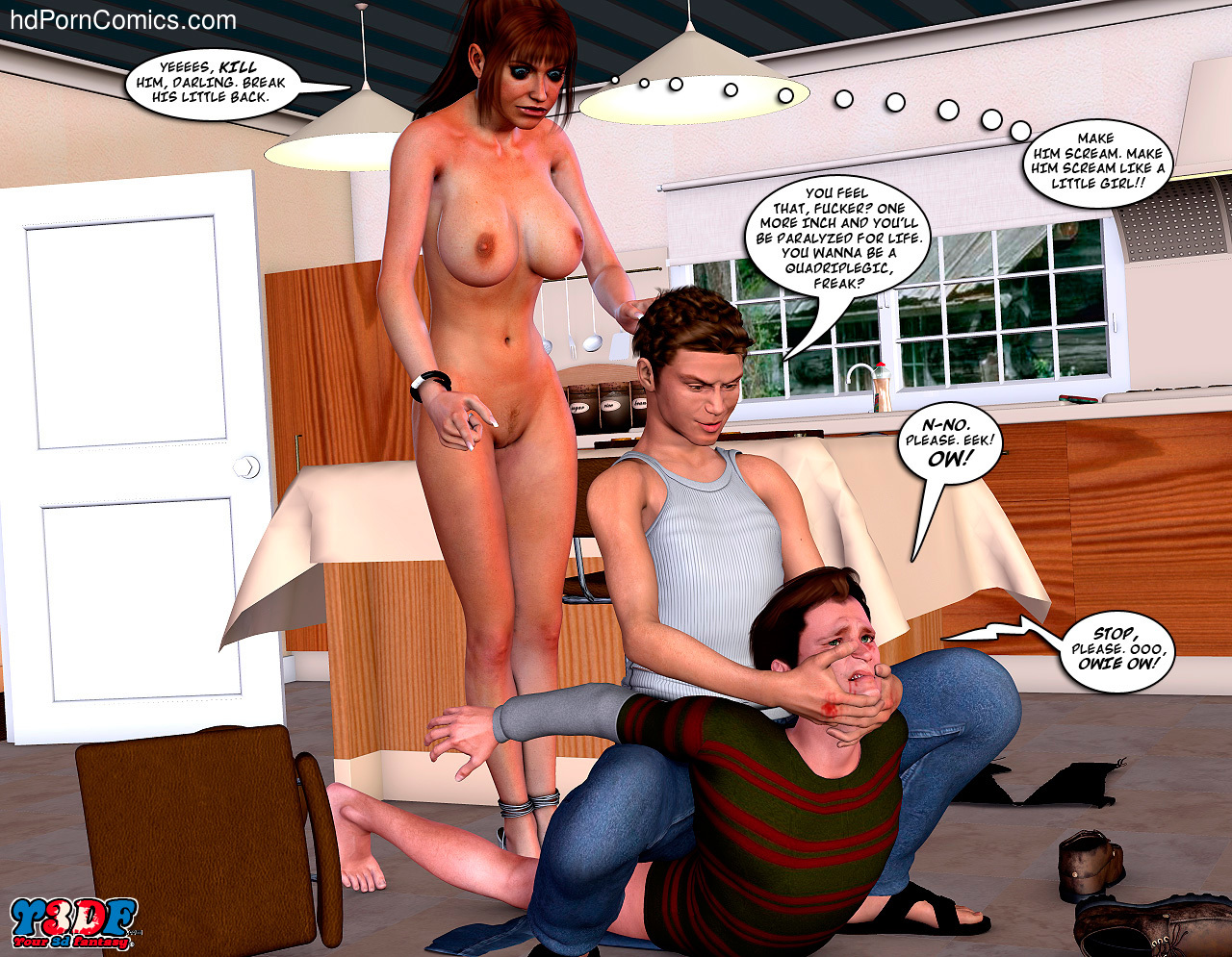 Meet the Johnson- 372 free sex comic