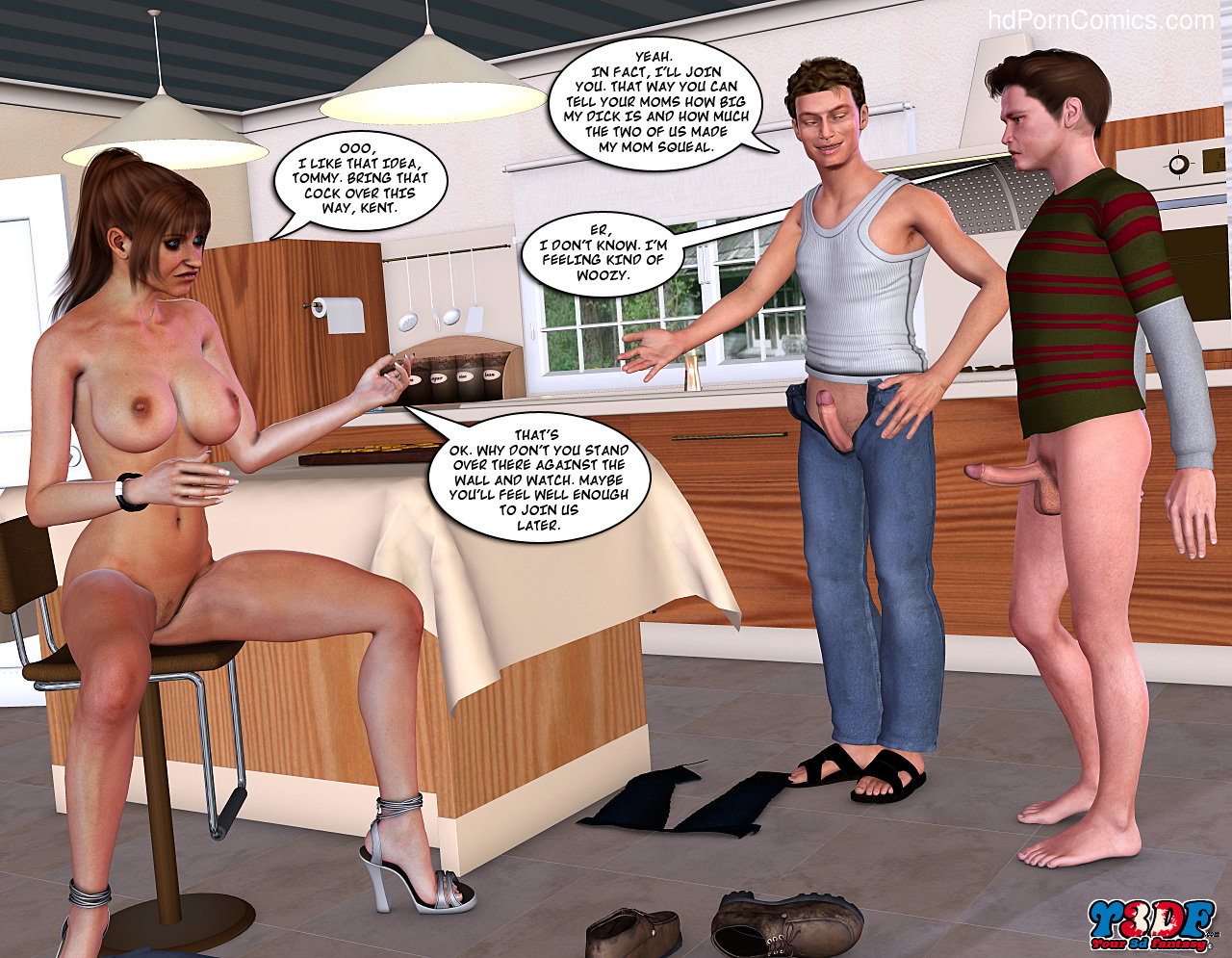Meet the Johnson- 380 free sex comic