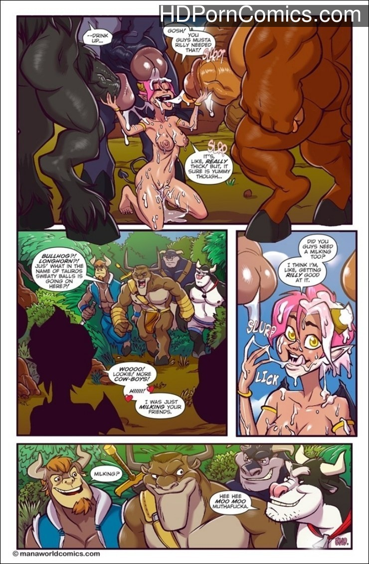 Melkormancin- Taking the Bull by Horns free Cartoon Porn Comic