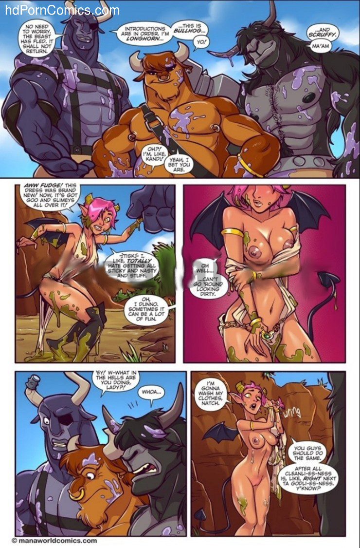 Melkormancin- Taking the Bull by Horns3 free sex comic