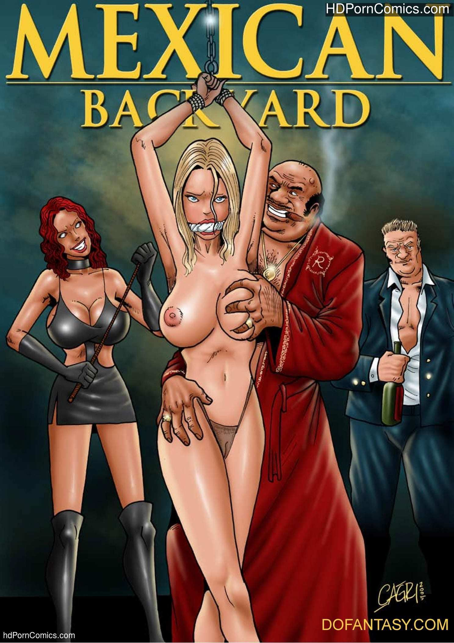 Mexican Backyard free Porn Comic