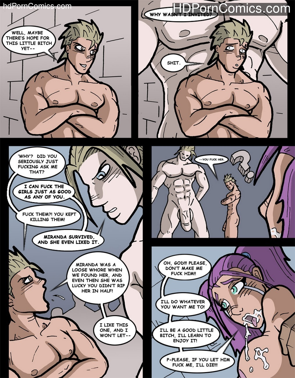 Midnight Rape Party 2 - One Thousand Served 11 free sex comic