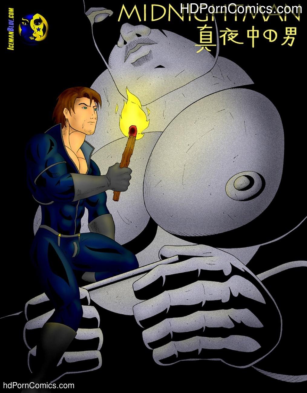 Midnightman 3 Sex Comic