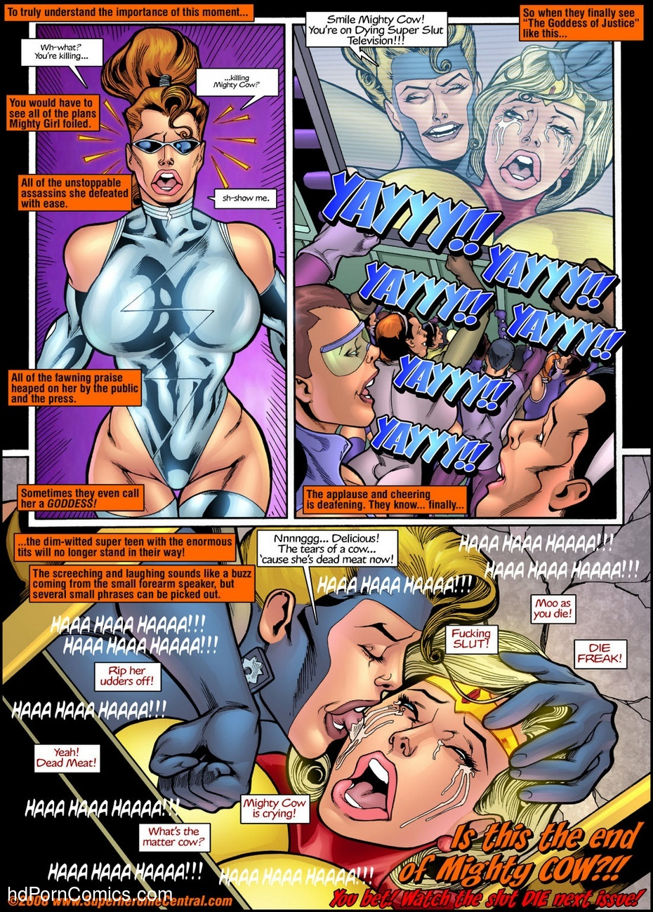 Mighty Girl 1 Sex Comic