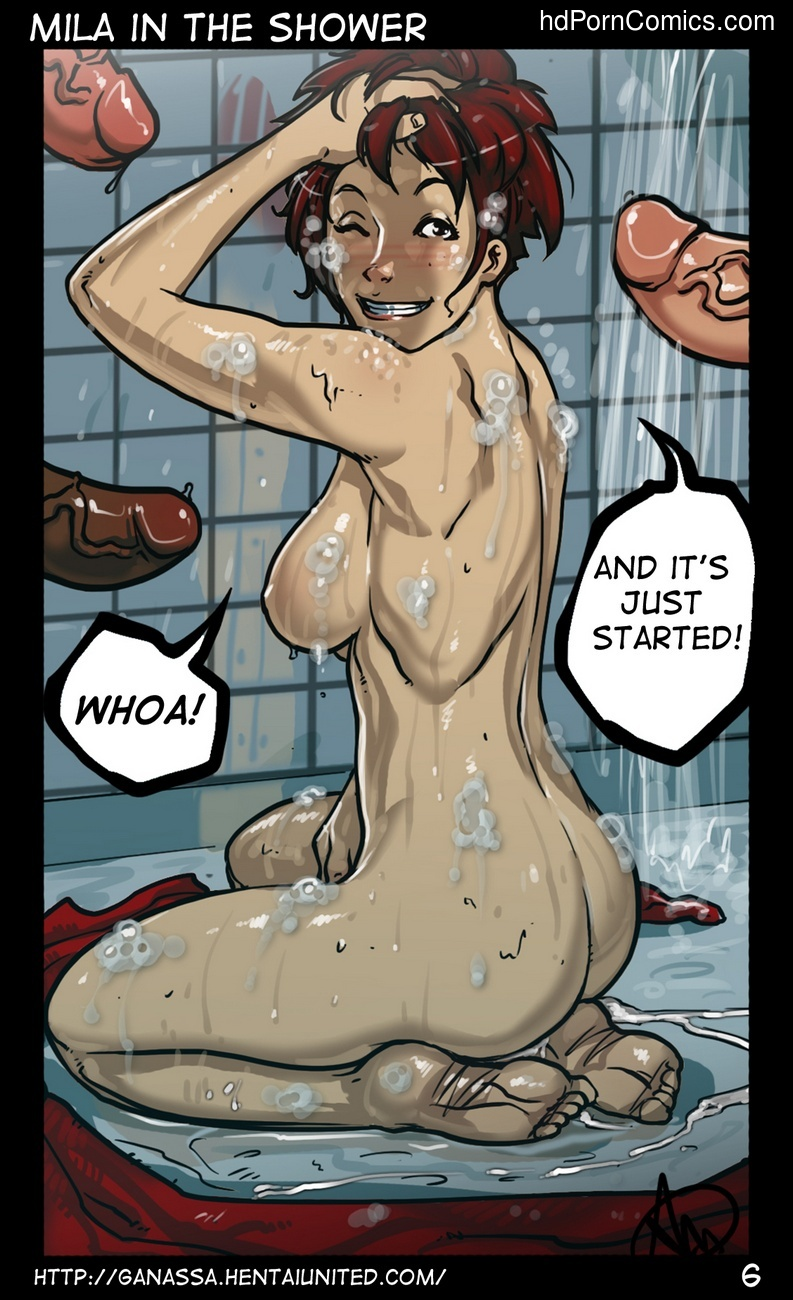 Mila In The Shower Sex Comic