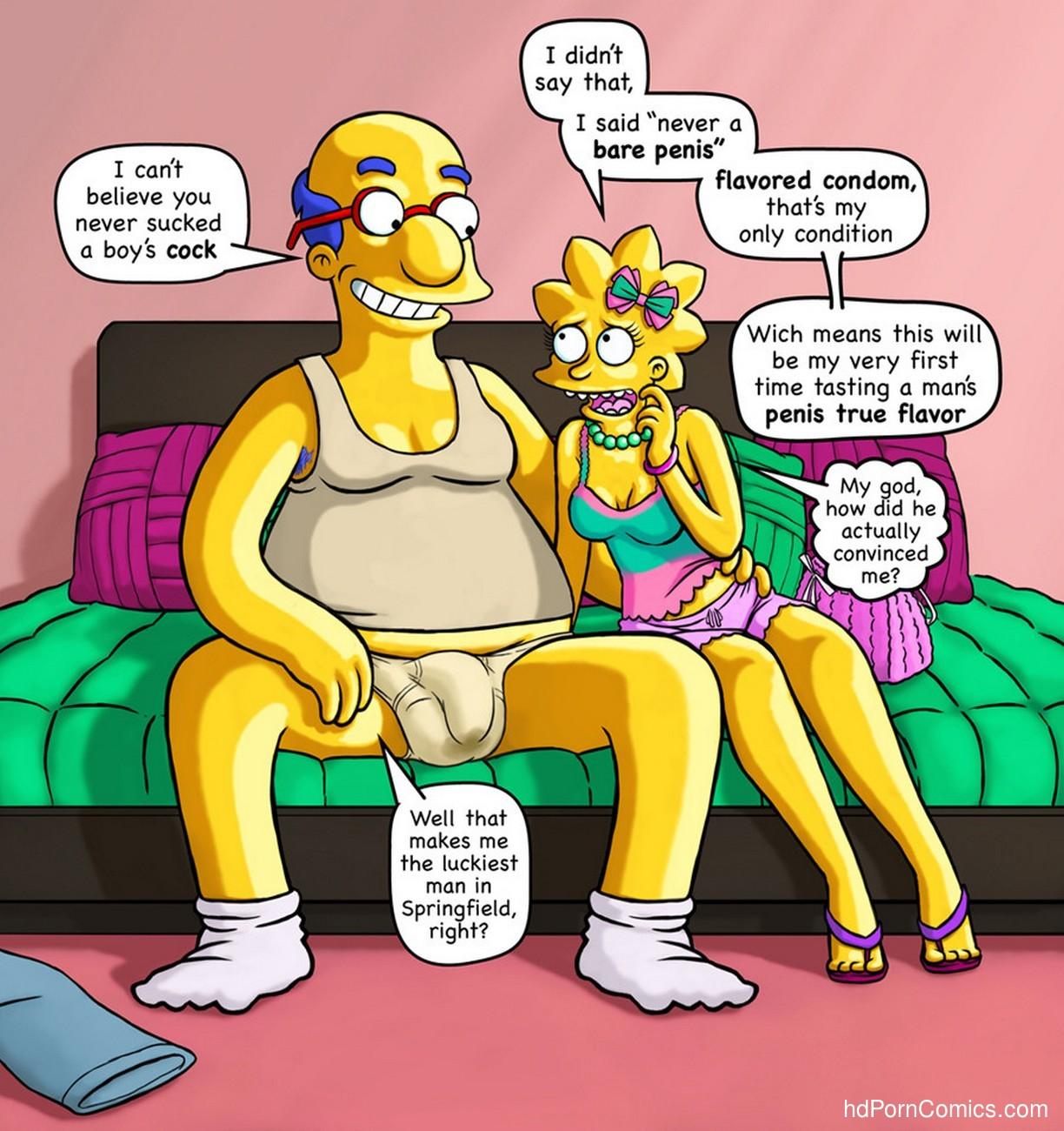 Milhouse's Obsessive Dream Finally Cum True His Father 2 free sex comic