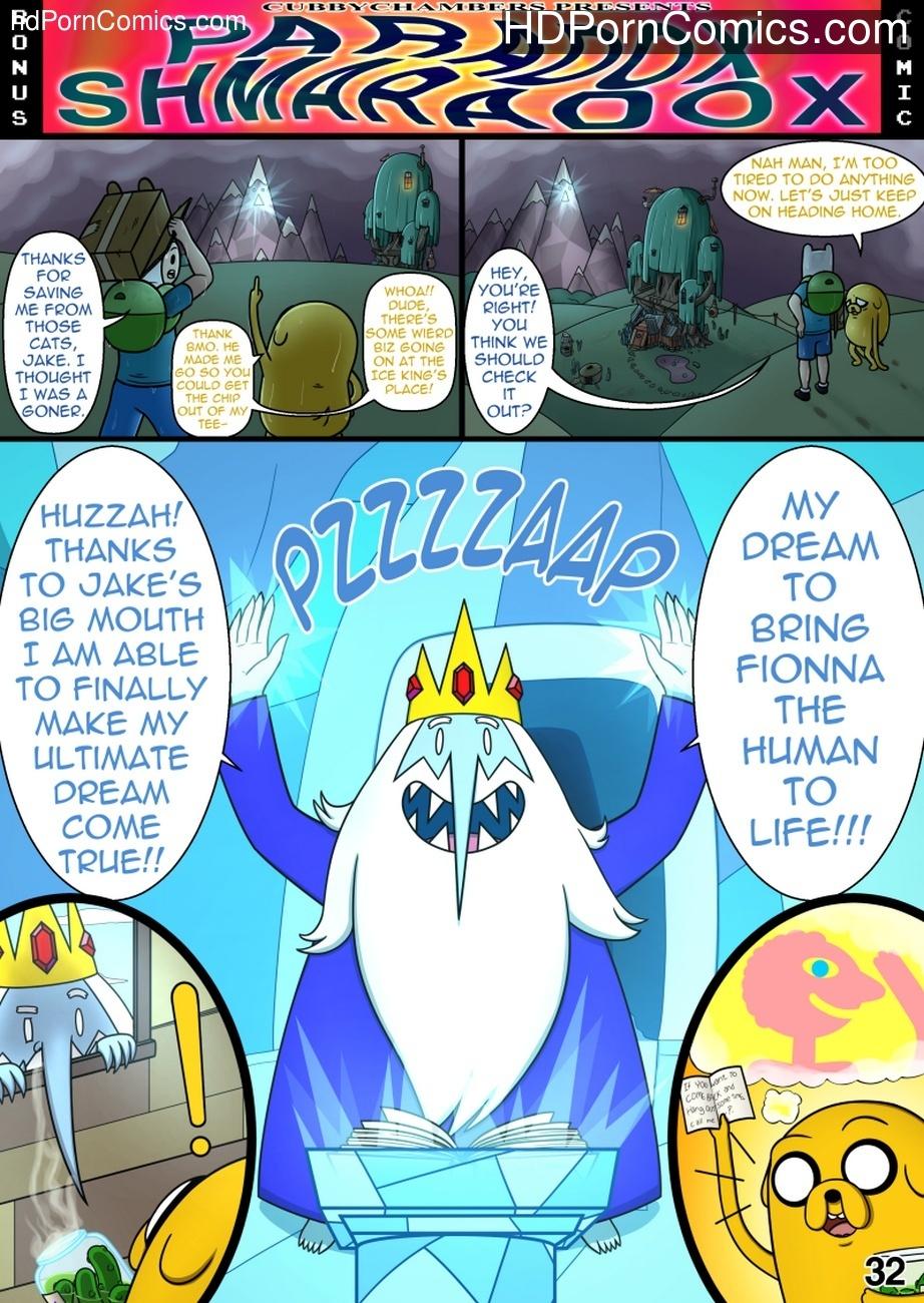 MisAdventure Time 3 Extra – Paradox Shmaradox Sex Comic