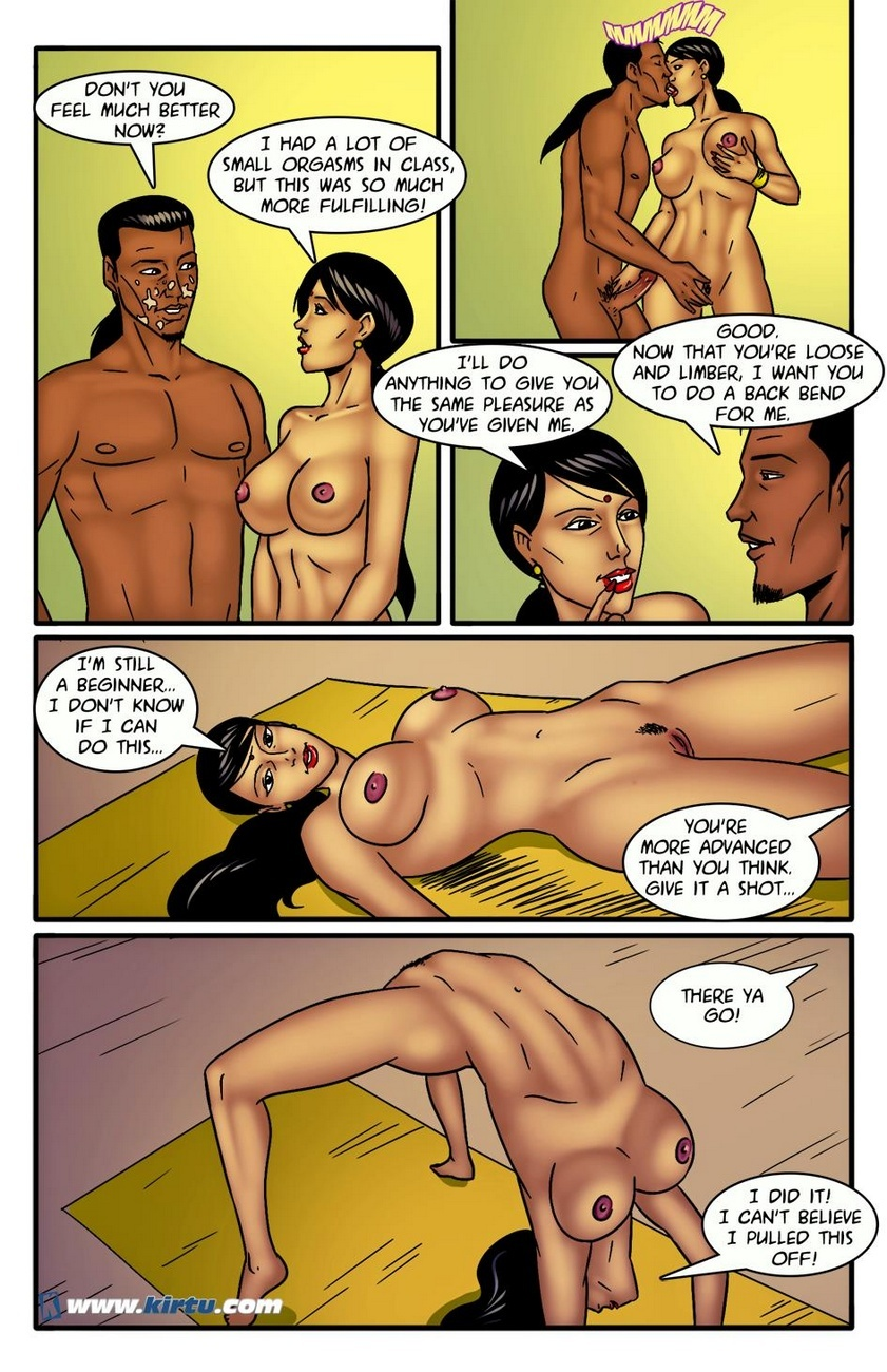 Miss Rita 11 - A Little Sexercise Helps Miss Rita Be More Flexible 23 free sex comic