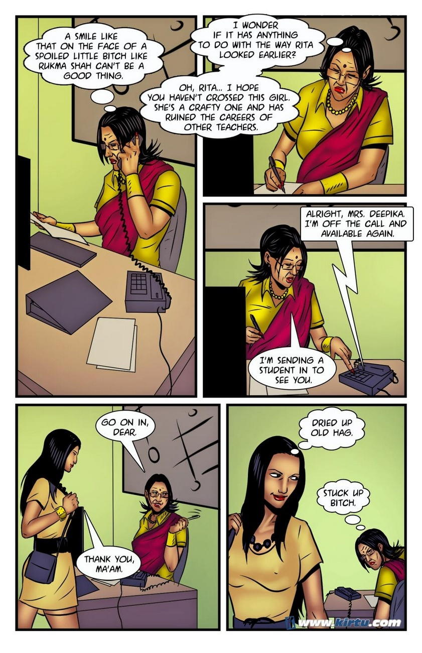 Miss Rita 18 - Rukma's Revenge Plan Plays Out 5 free sex comic