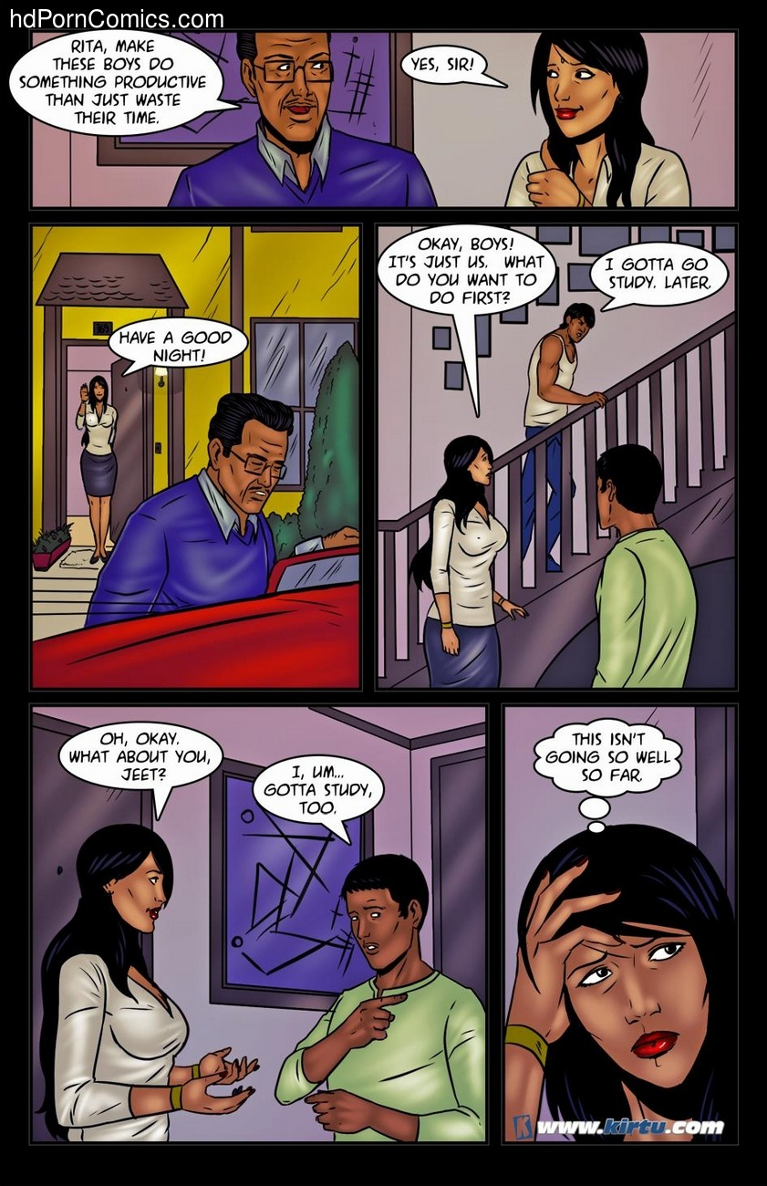 Miss Rita 20 – Bad Babysitter Sex Comic