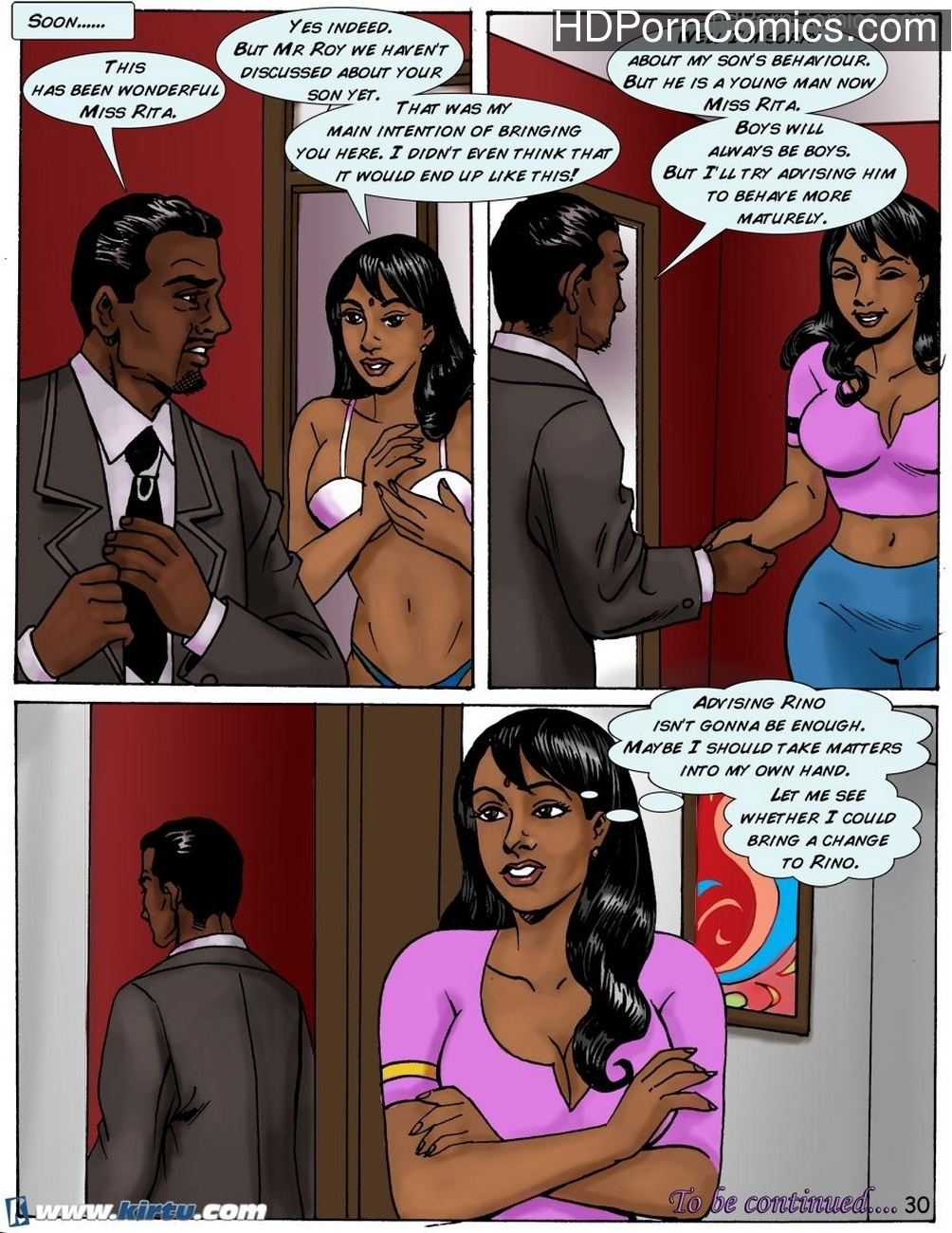 Miss Rita 3 – The Parent Teacher Meeting Sex Comic