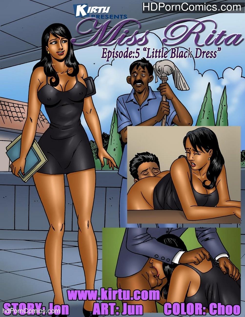 Miss Rita 5 – Little Black Dress Sex Comic