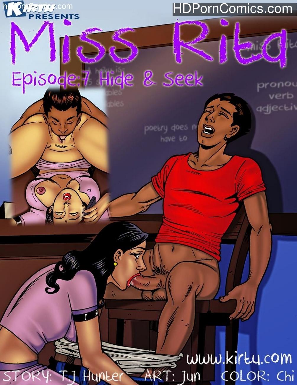 порно комикс miss puma