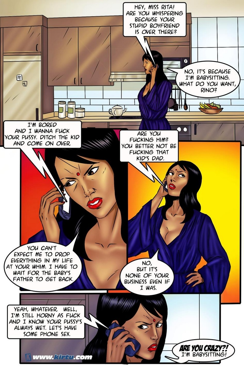 Miss Rita 8 - Talking Dirty 13 free sex comic