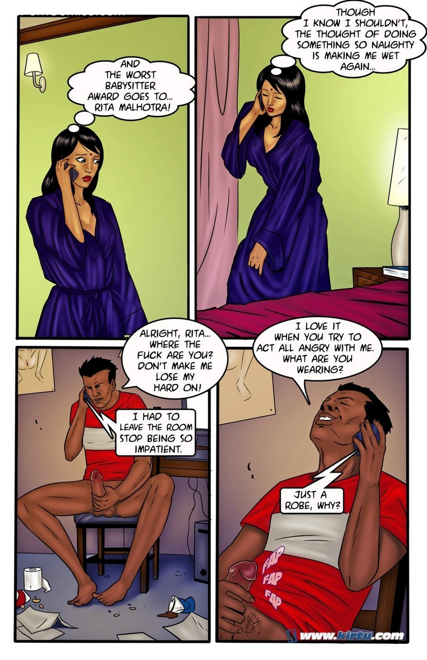 Miss Rita 8 - Talking Dirty 15 free sex comic