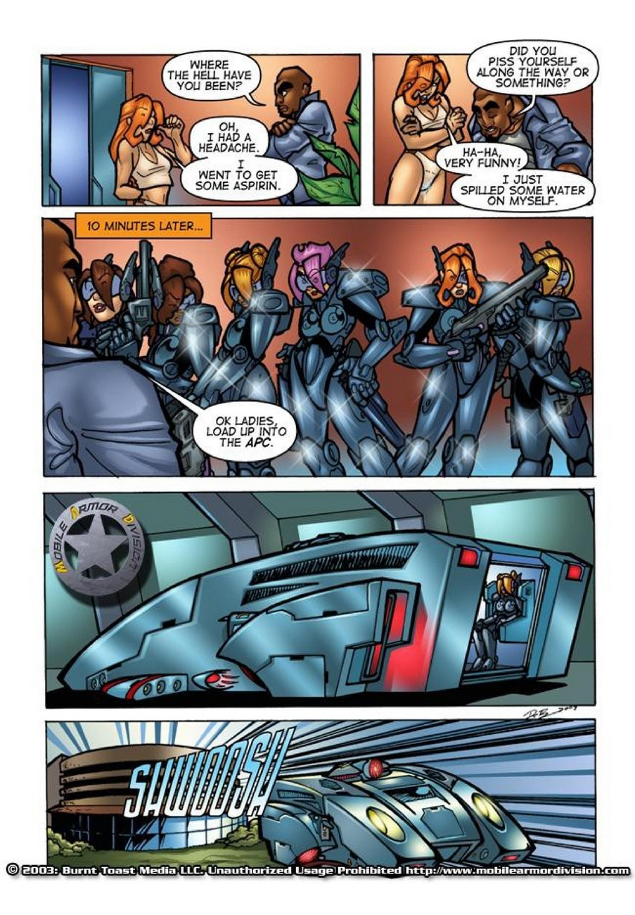 Mobile Armor Division 2 - Armed To The Teeth 12 free sex comic