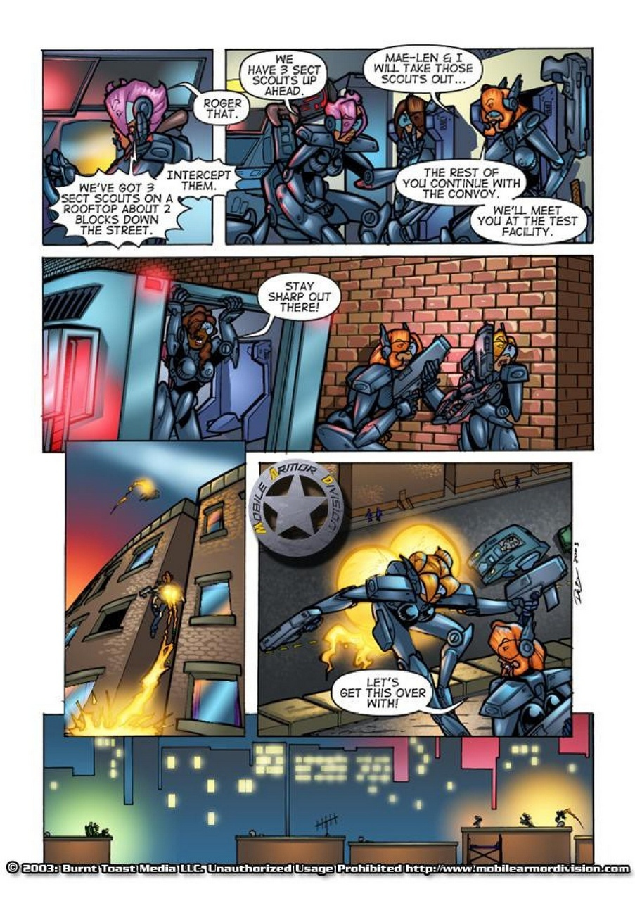 Mobile Armor Division 2 - Armed To The Teeth 14 free sex comic