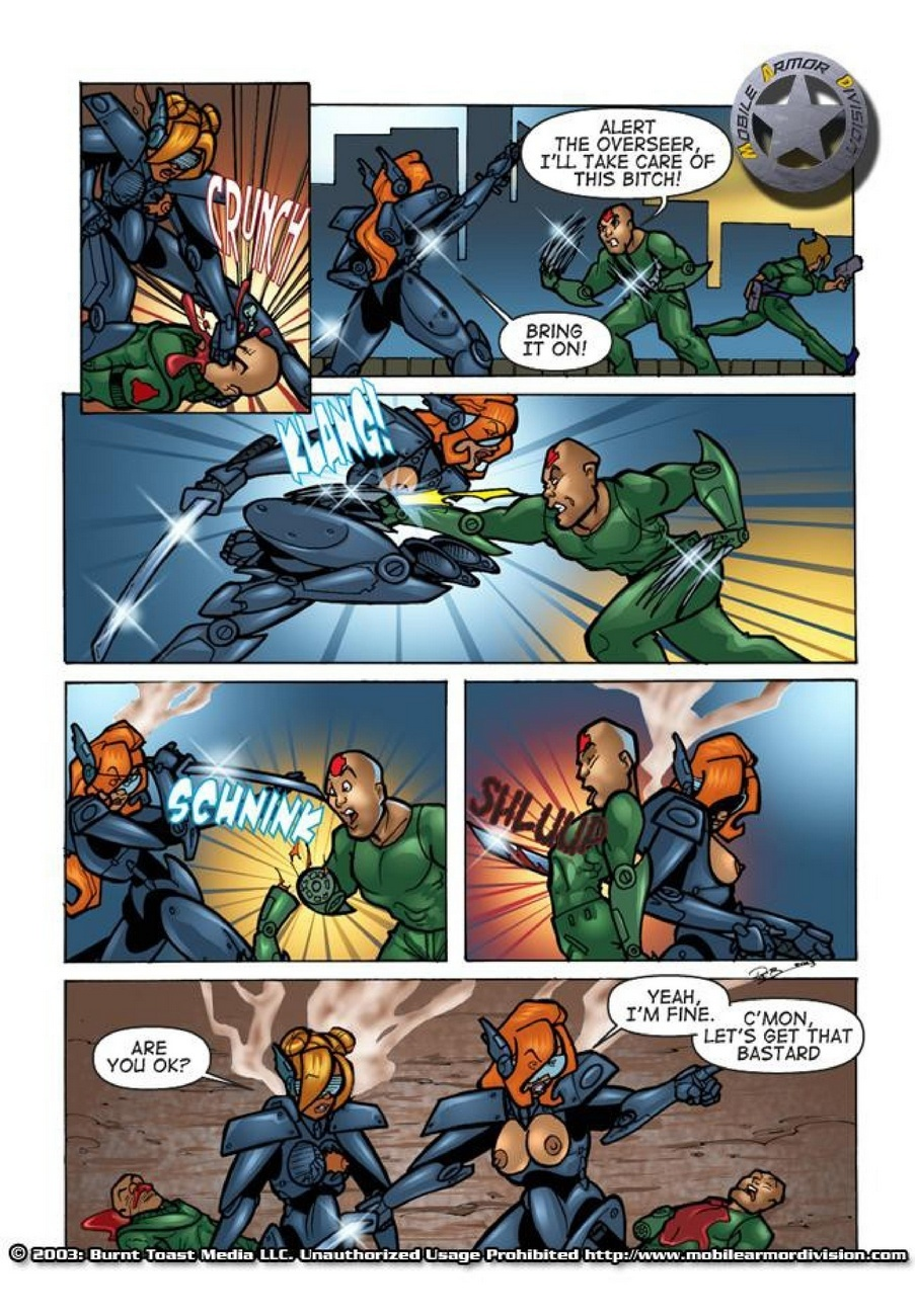 Mobile Armor Division 2 - Armed To The Teeth 16 free sex comic