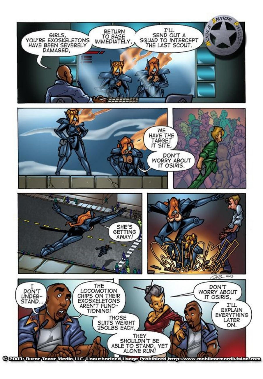Mobile Armor Division 2 - Armed To The Teeth 17 free sex comic