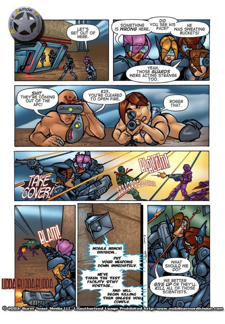 Mobile Armor Division 2 - Armed To The Teeth 19 free sex comic