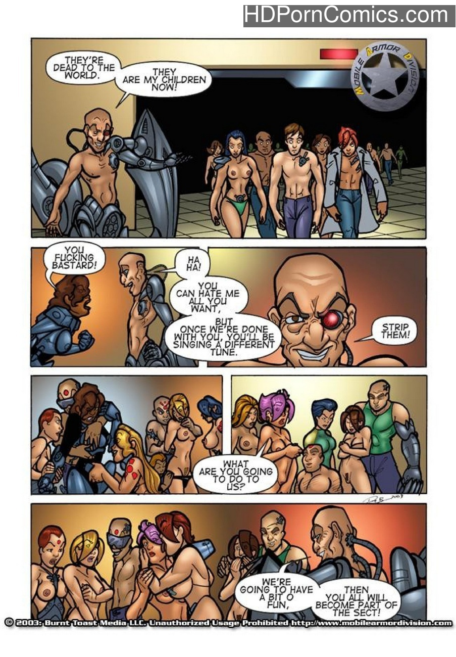 Mobile Armor Division 2 - Armed To The Teeth 21 free sex comic