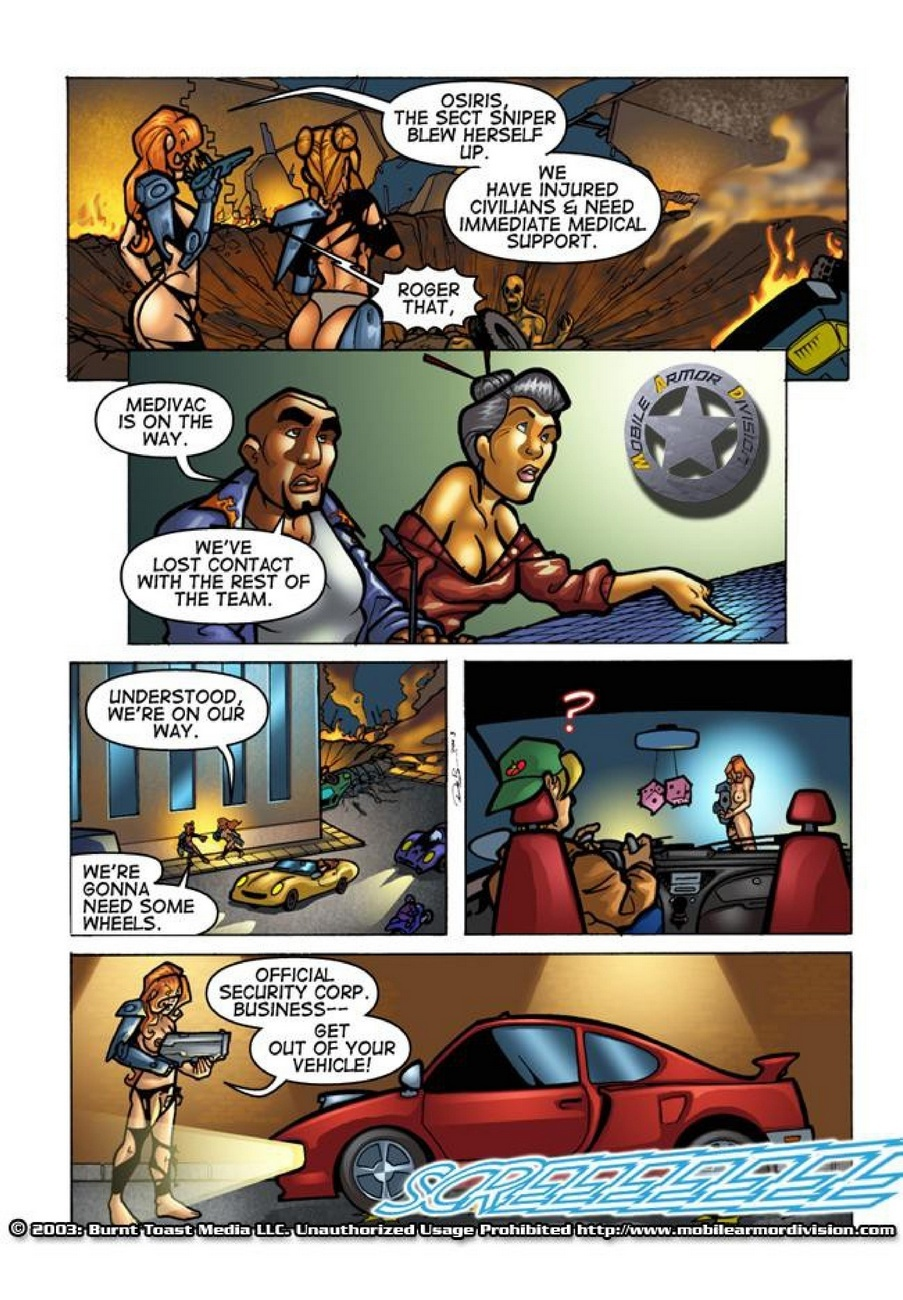 Mobile Armor Division 2 - Armed To The Teeth 32 free sex comic