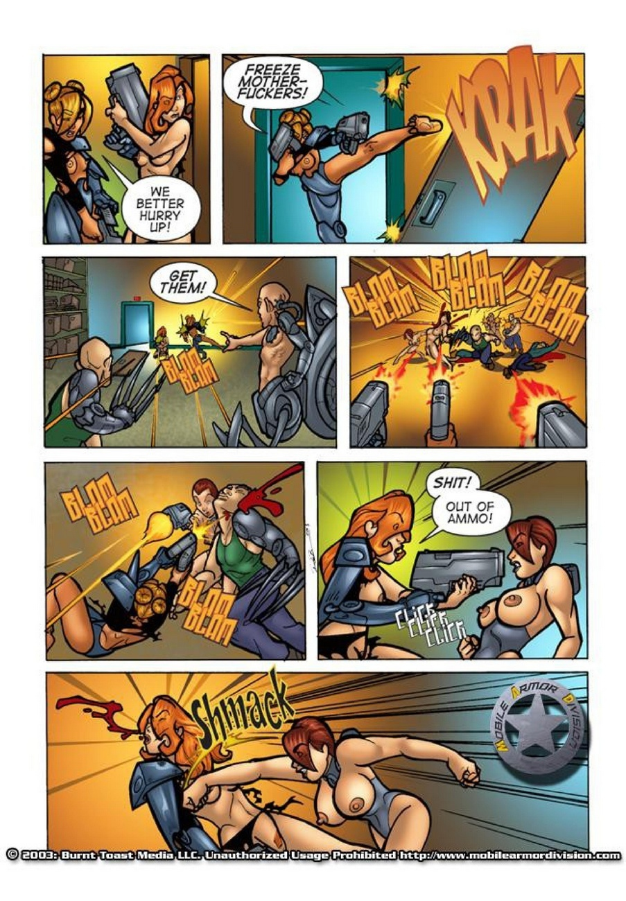Mobile Armor Division 2 - Armed To The Teeth 34 free sex comic