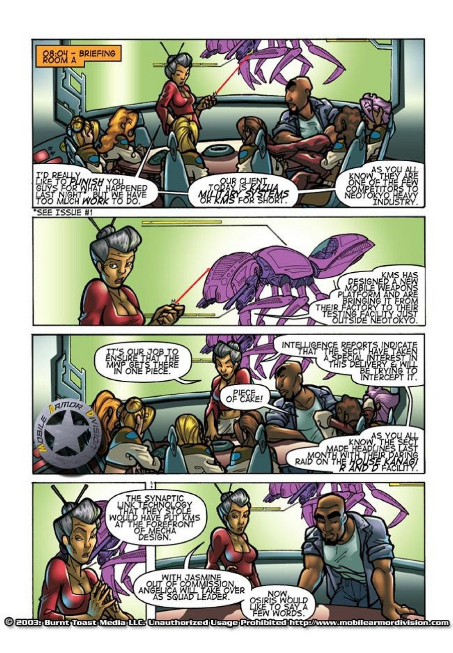 Mobile Armor Division 2 - Armed To The Teeth 8 free sex comic