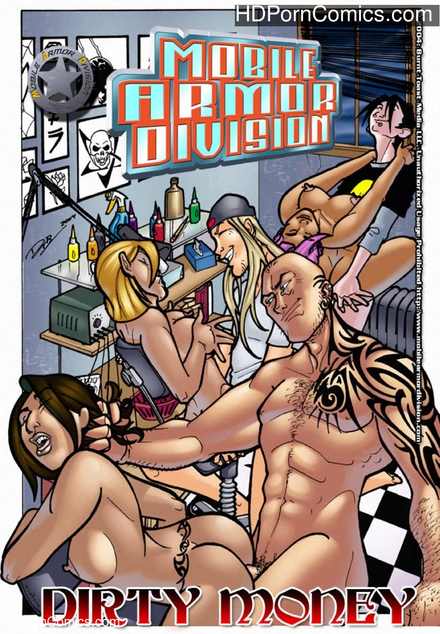 Mobile Armor Division 5 – Dirty Money Sex Comic
