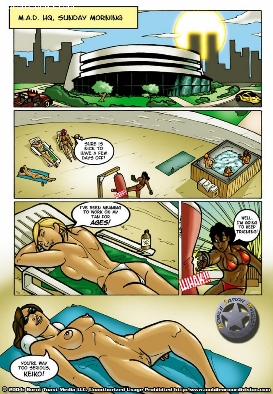 Mobile Armor Division 5 - Dirty Money 2 free sex comic