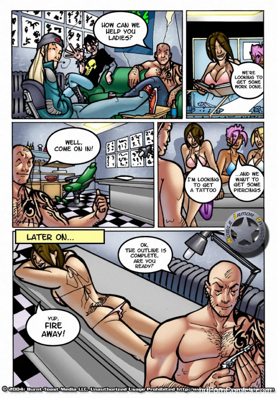 Mobile Armor Division 5 - Dirty Money 8 free sex comic