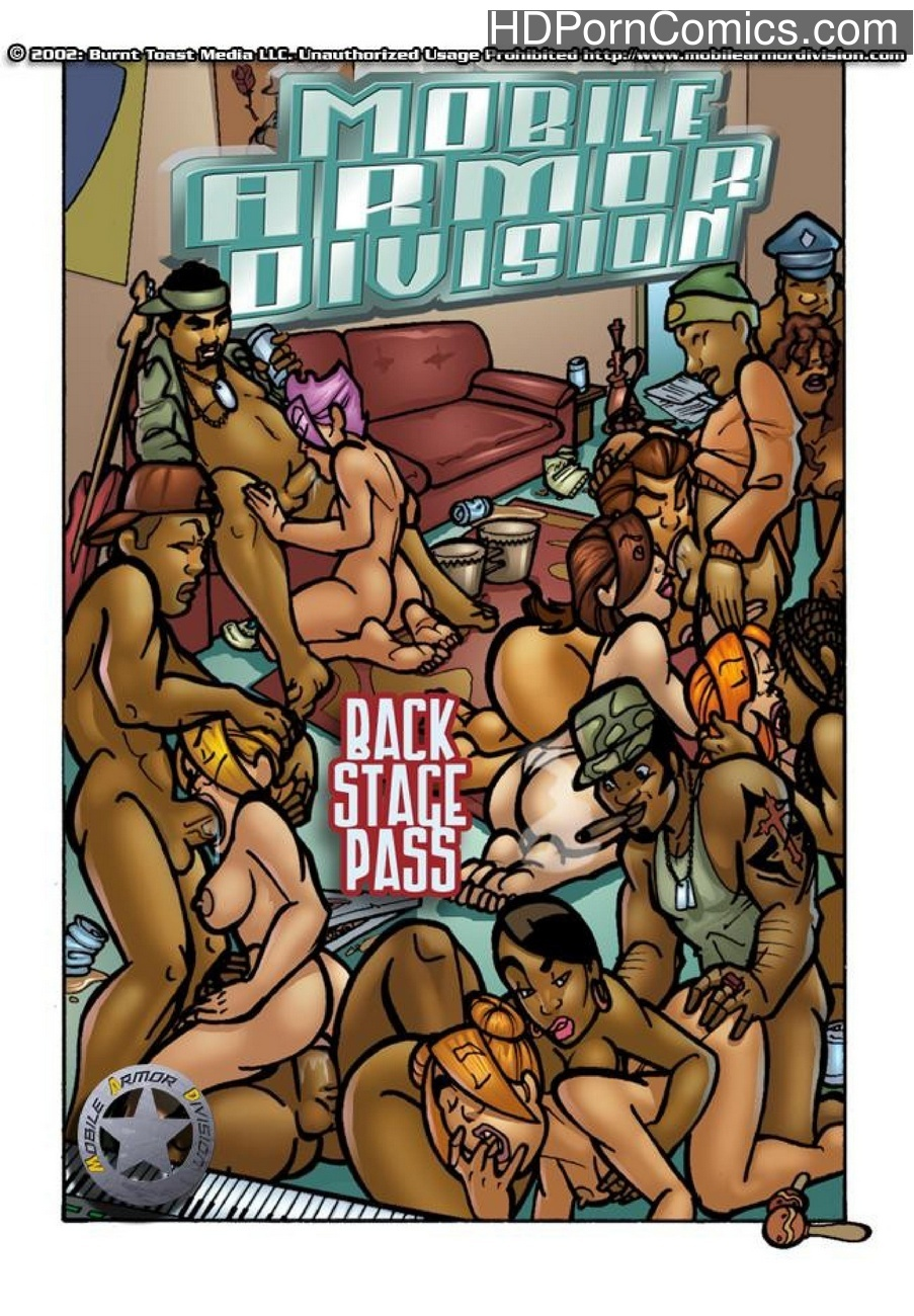 Mobile Armor Division 6 - Back Stage Pass 1 free sex comic
