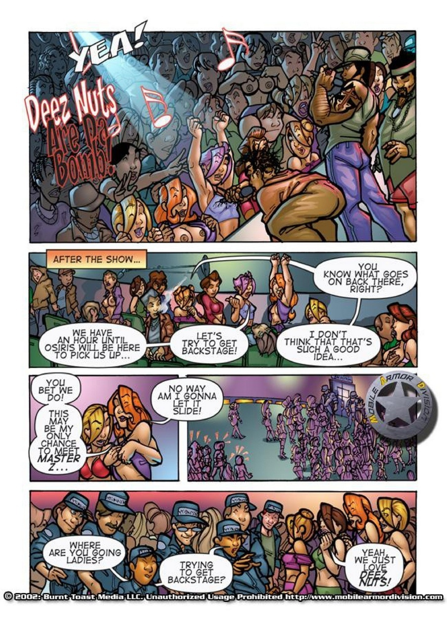 Mobile Armor Division 6 - Back Stage Pass 3 free sex comic