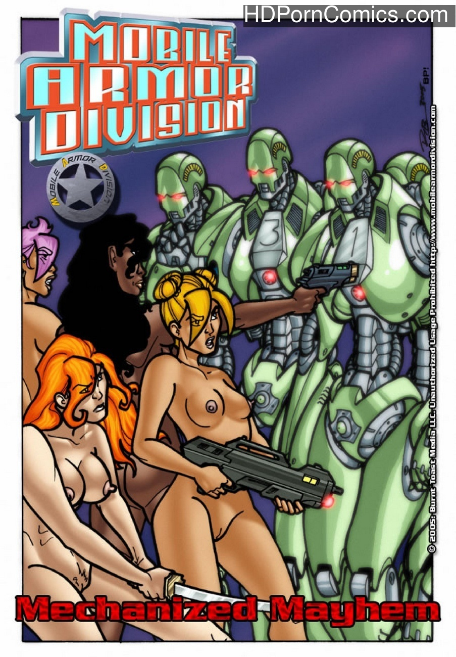 Mobile Armor Division 7 – Mechanized Mayhem Sex Comic