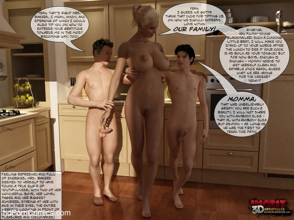 Mom And Boys Sex Comic