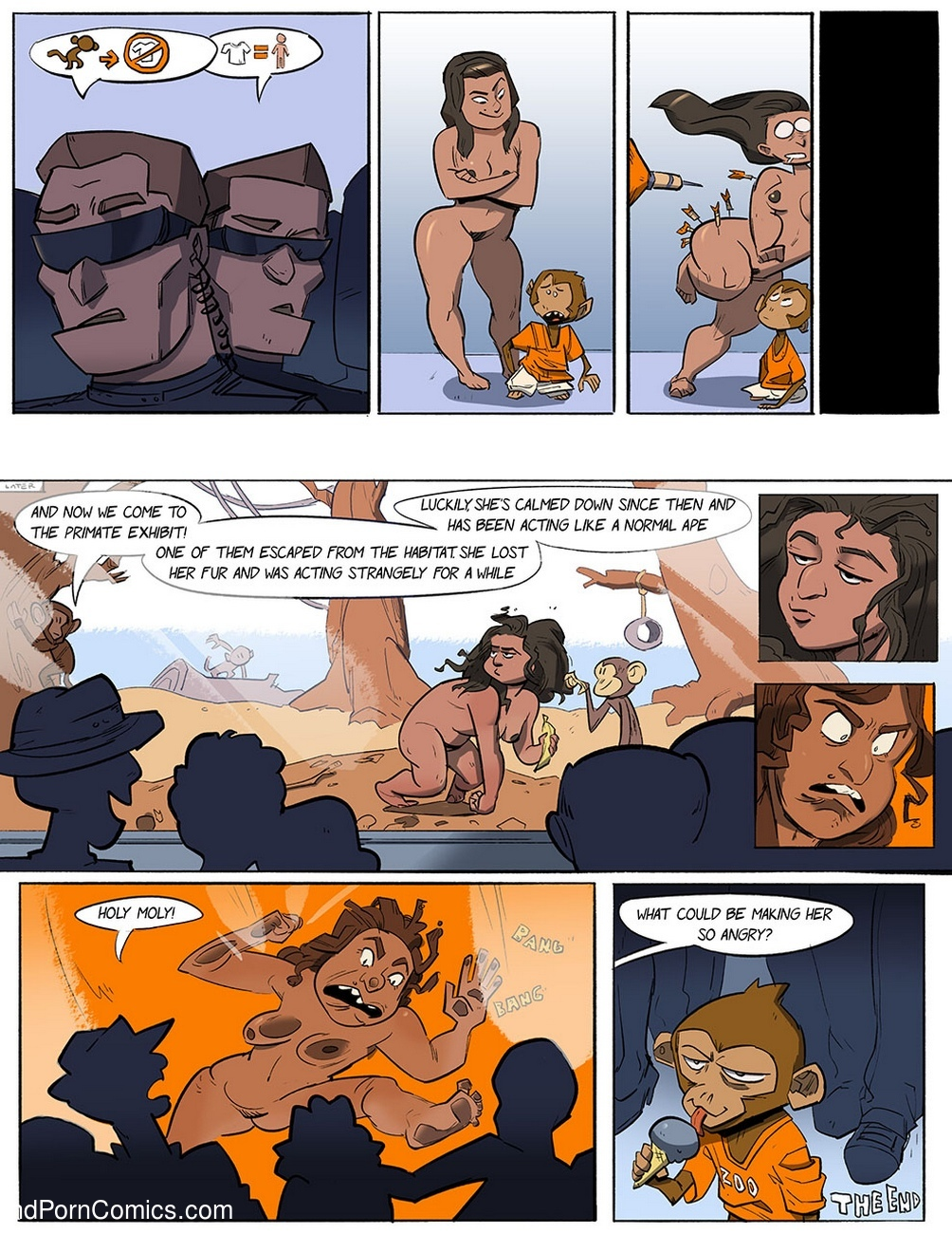 Monkey Business Sex Comic