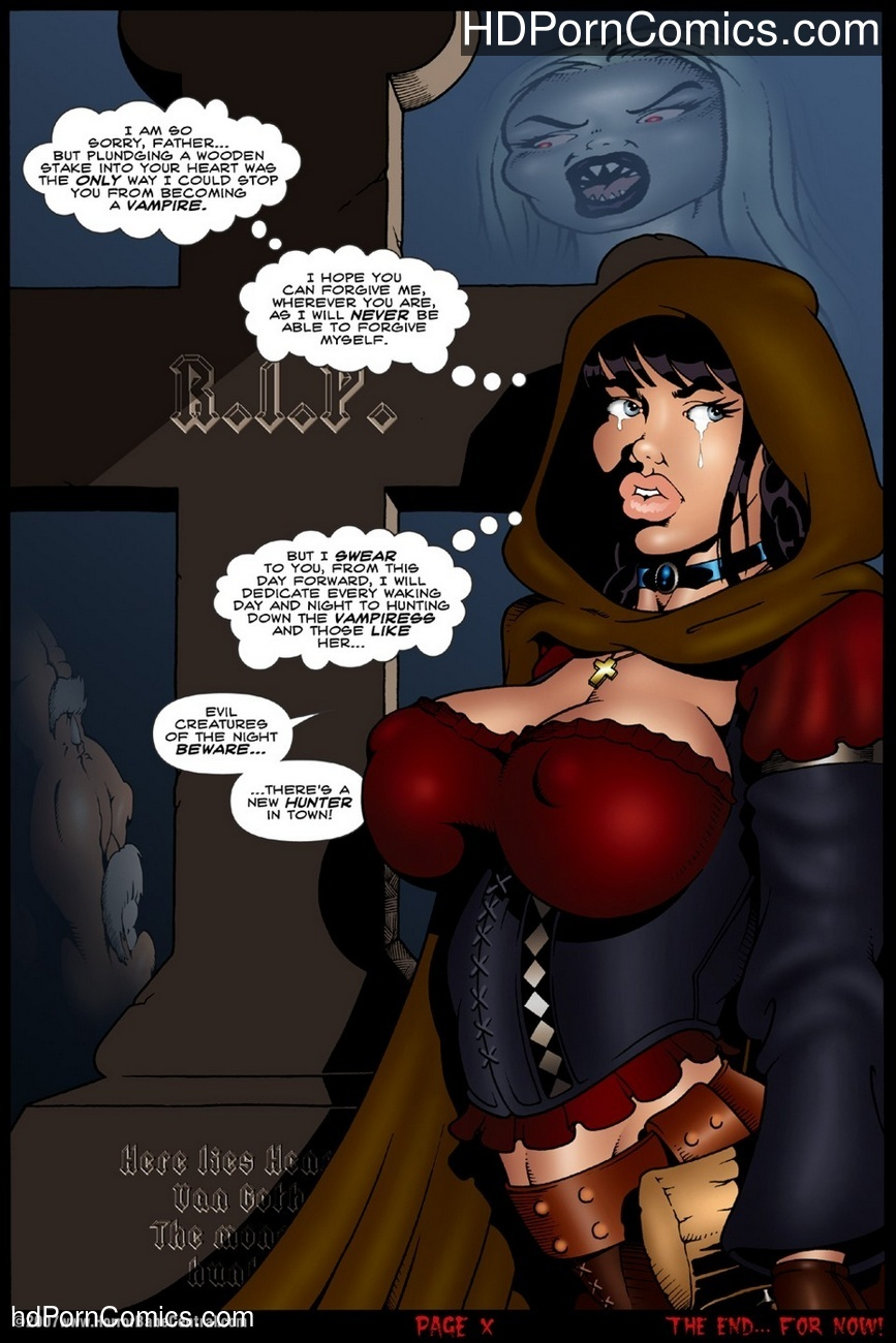 Monster Huntress Sex Comic
