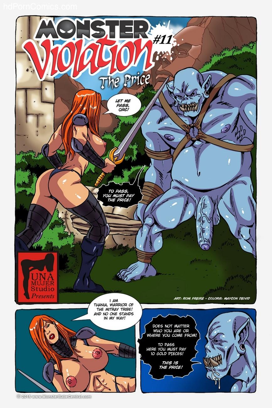 Monster Porn Comics