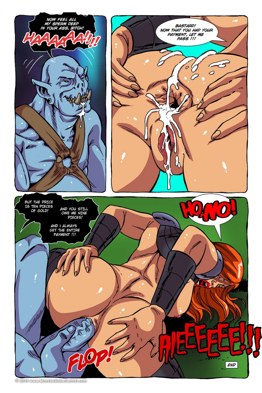 Monster Violation 11 – The Price Sex Comic