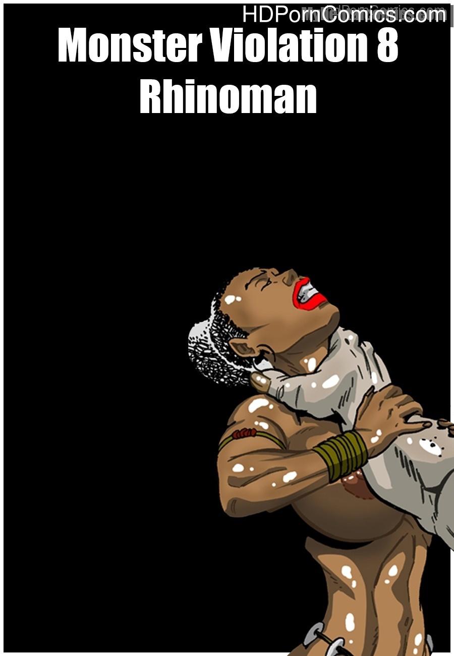 Monster Violation 8 – Rhinoman Sex Comic