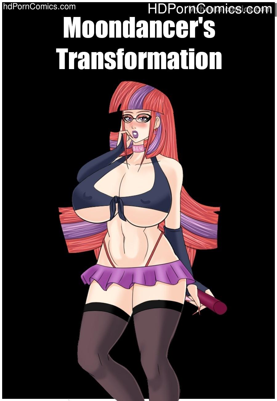Moondancer's Transformation Sex Comic