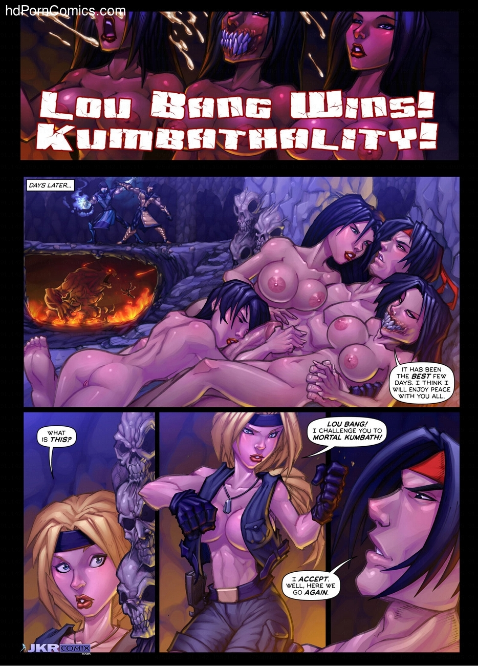 Mortal Kumbath Sex Comic