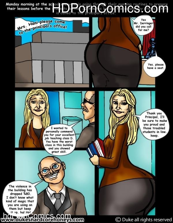 Mrs Hani 3,4 -Big Ass Lebanese Teacher1 free sex comic