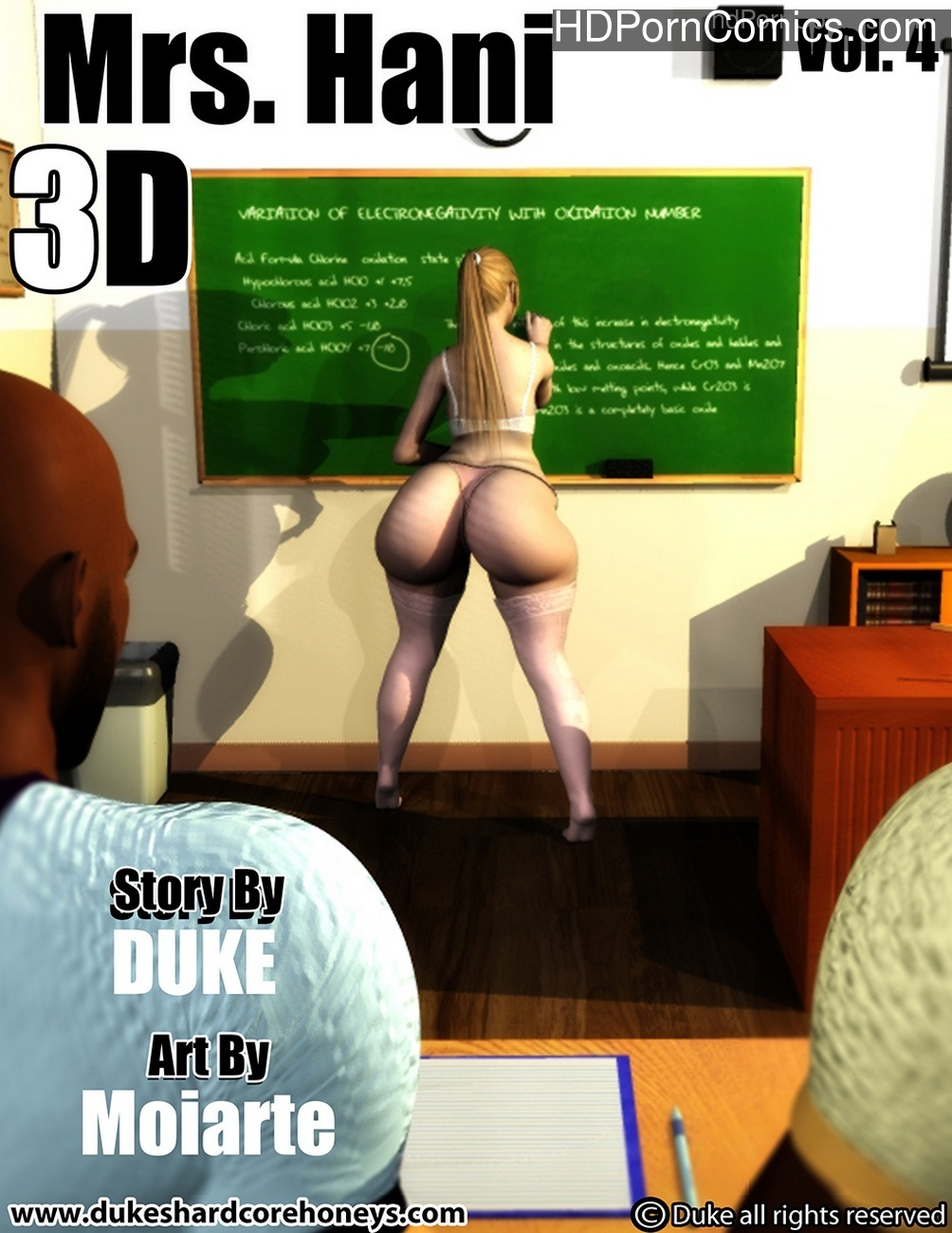 Mrs Hani 4 Sex Comic