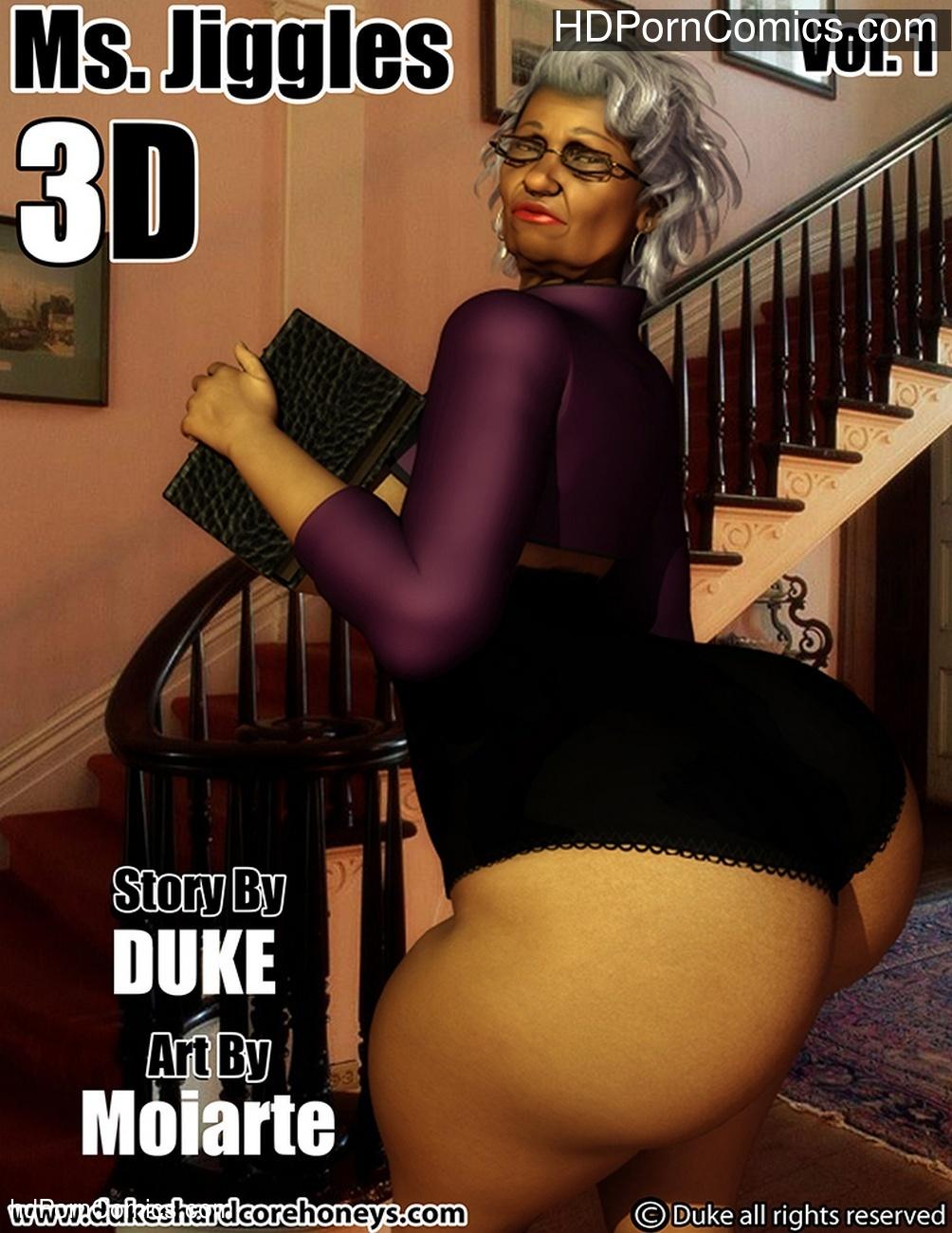 Ms Jiggles 3D 1 Sex Comic
