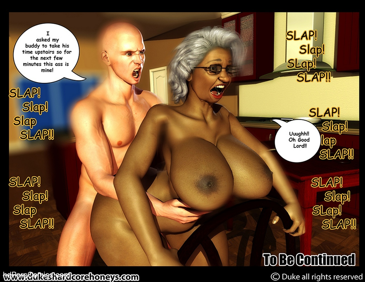 Ms Jiggles 3D 5 Sex Comic